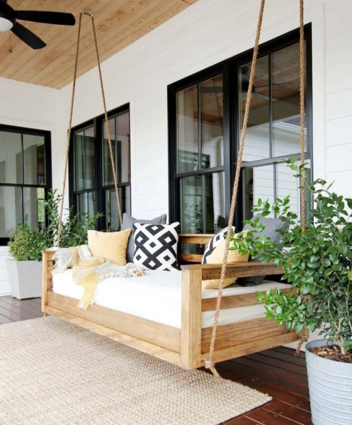 92 Awesome Porch Swing Ideas In Backyard - 7 Tips for Choosing the Perfect Porch Swing for Your Backyard Paradise 6246