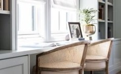 97 Home Office Design Ideas That Look Elegant Following Easy Tips For Decorating 34