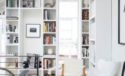 97 Home Office Design Ideas That Look Elegant Following Easy Tips For Decorating 83