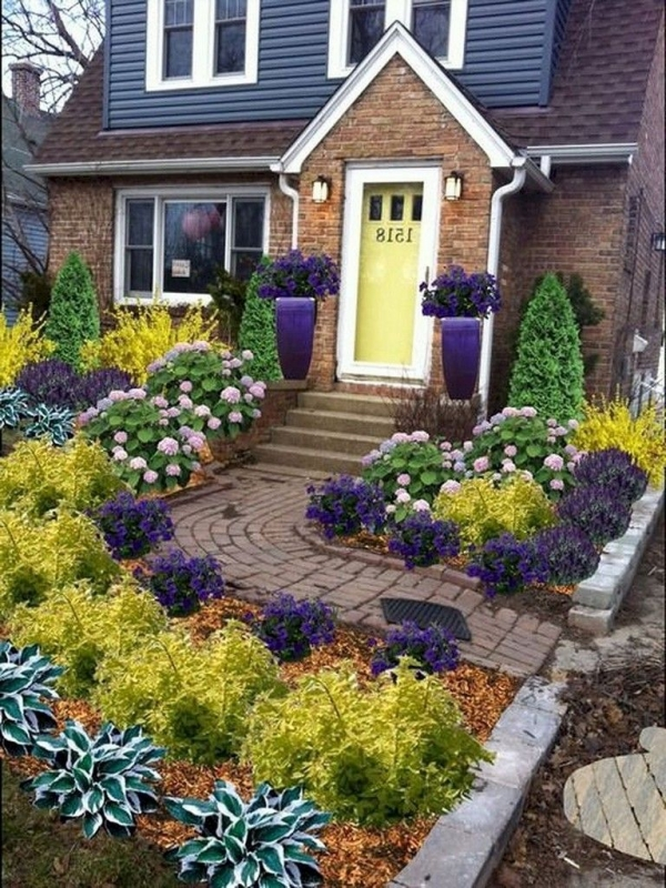 99 Small Front Yard Landscaping Ideas Low Maintenance 4353