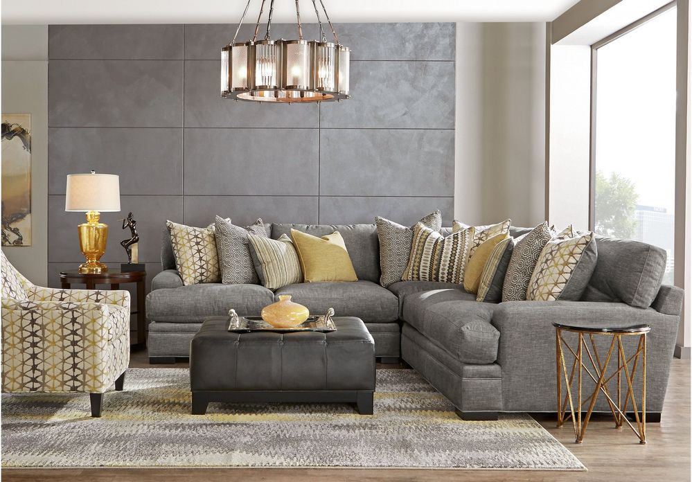 97 Most Popular Top Choices Rooms To Go Cindy Crawford Sectional 7