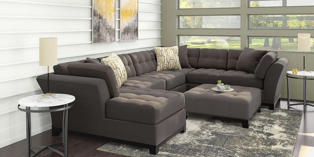 97 Most Popular Top Choices Rooms To Go Cindy Crawford Sectional 77