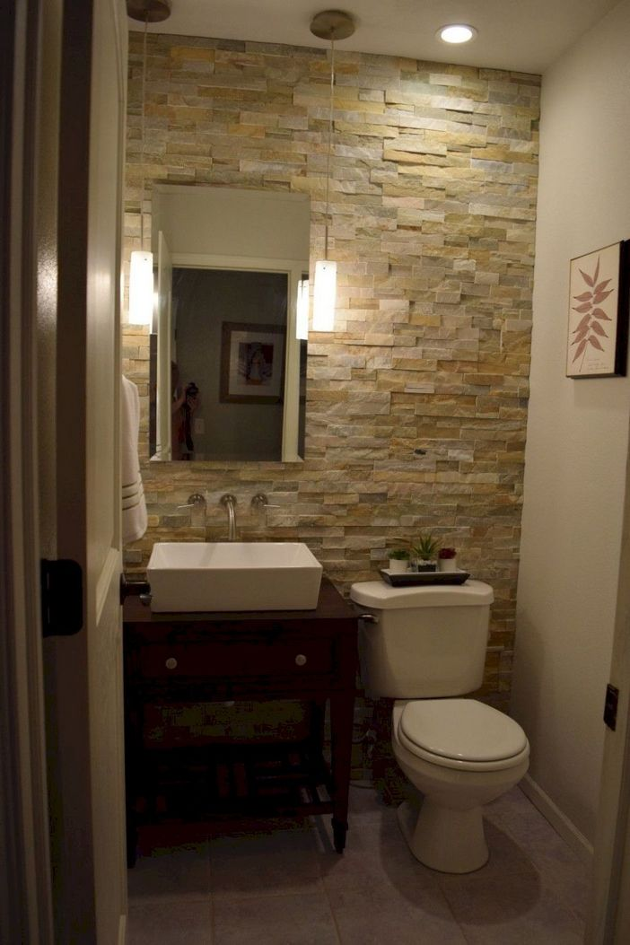 100 Awesome Design Ideas For A Small Bathroom Remodel 1