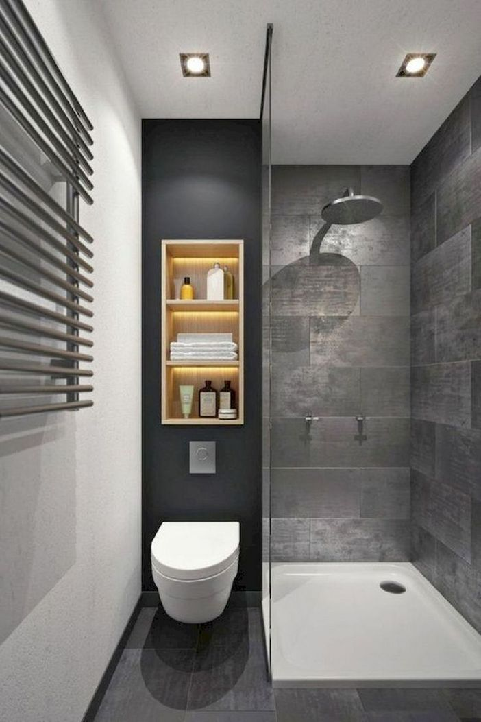 100 Awesome Design Ideas For A Small Bathroom Remodel 14