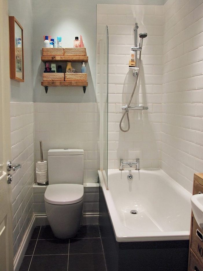 100 Awesome Design Ideas For A Small Bathroom Remodel 29
