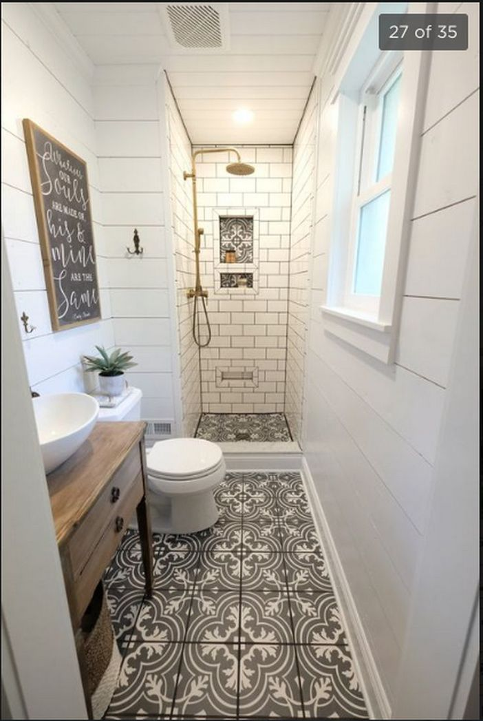 100 Awesome Design Ideas For A Small Bathroom Remodel 37
