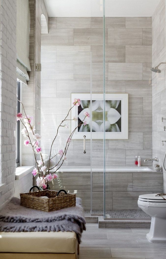 100 Awesome Design Ideas For A Small Bathroom Remodel 38