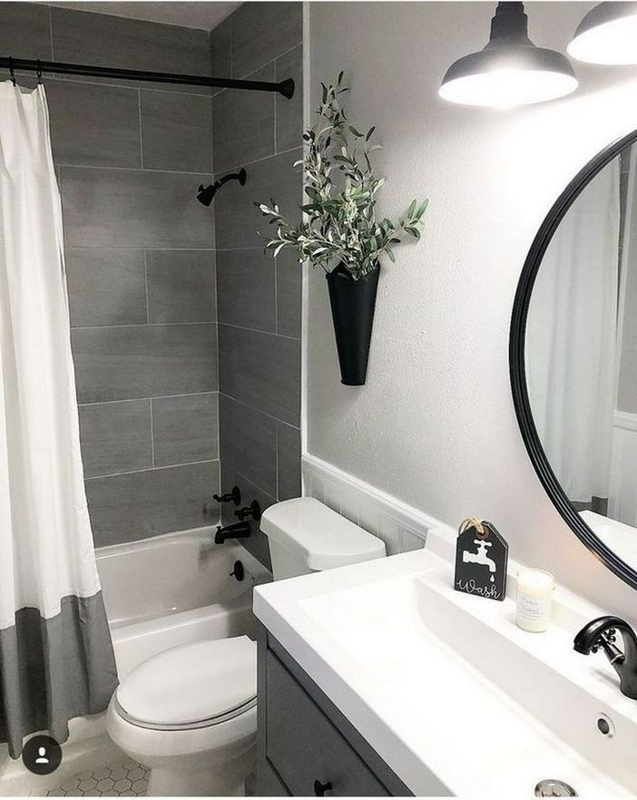 100 Awesome Design Ideas For A Small Bathroom Remodel 6
