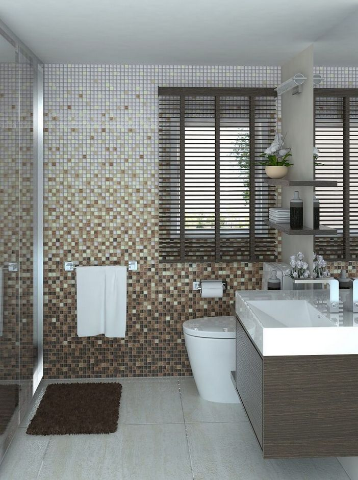 100 Awesome Design Ideas For A Small Bathroom Remodel 72