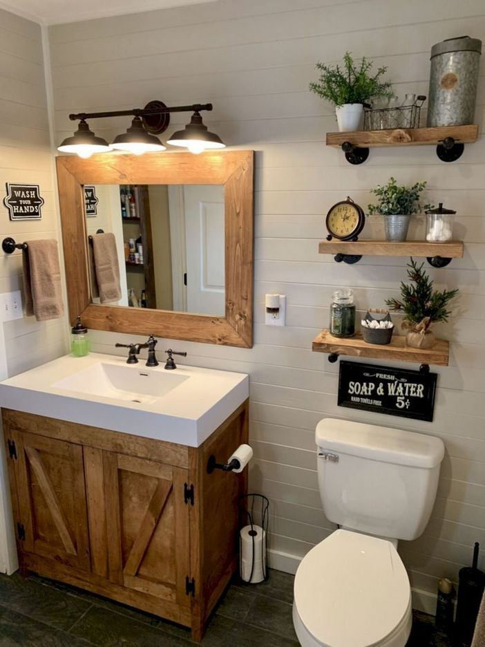 100 Awesome Design Ideas For A Small Bathroom Remodel 81