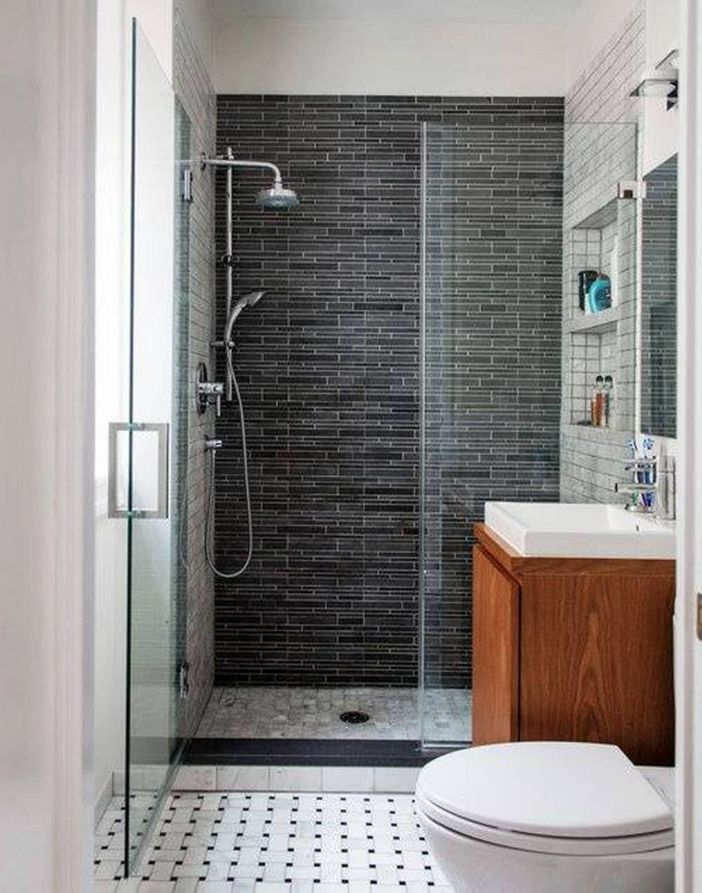 100 Awesome Design Ideas For A Small Bathroom Remodel 93