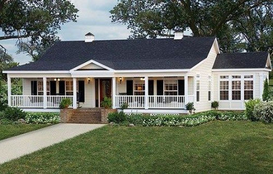 63 Amazing Ranch Home Design Ideas 44