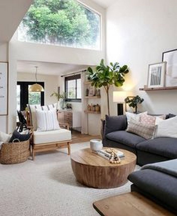 69 Attractive Organic Interior Designs That Look Beautiful 13