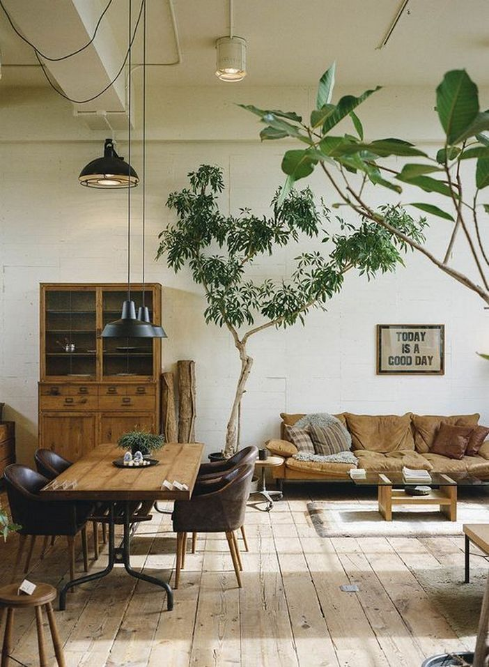 69 Attractive Organic Interior Designs That Look Beautiful 25