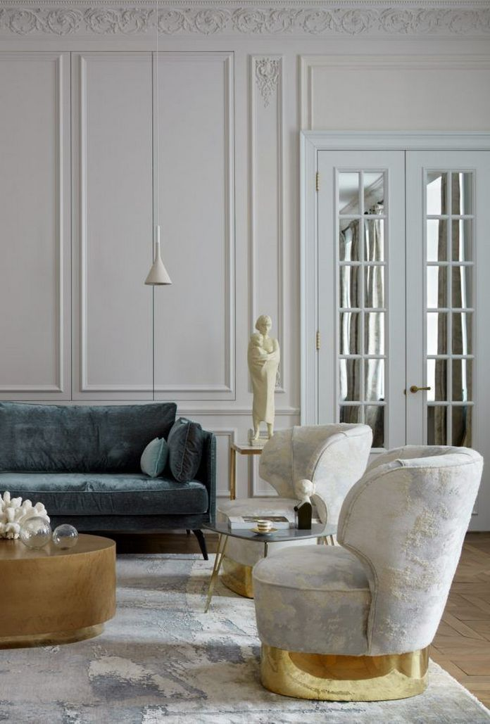 83 Interior Design Models That Look Luxurious And Are Designed To Decorate The Living Room 10