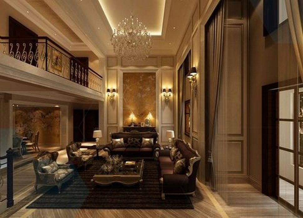 83 Interior Design Models That Look Luxurious And Are Designed To Decorate The Living Room 19