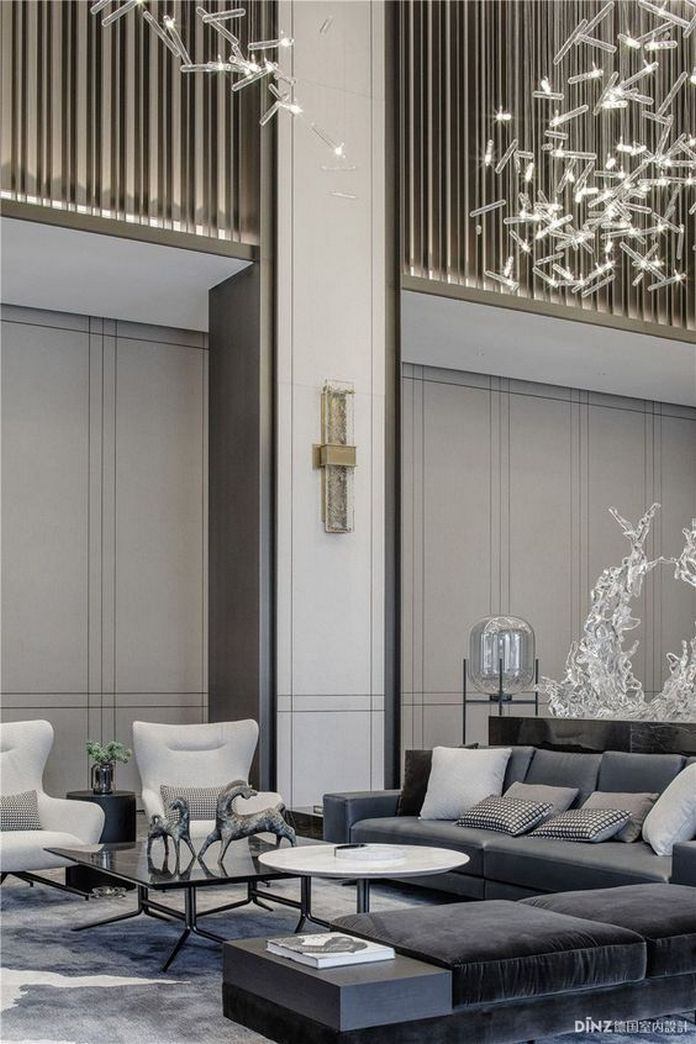 83 Interior Design Models That Look Luxurious And Are Designed To Decorate The Living Room 26