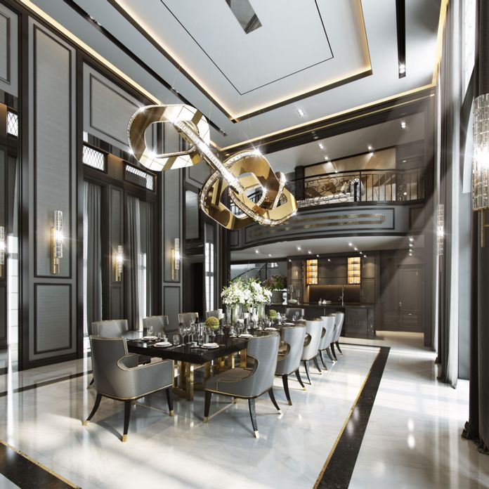 83 Interior Design Models That Look Luxurious And Are Designed To Decorate The Living Room 29