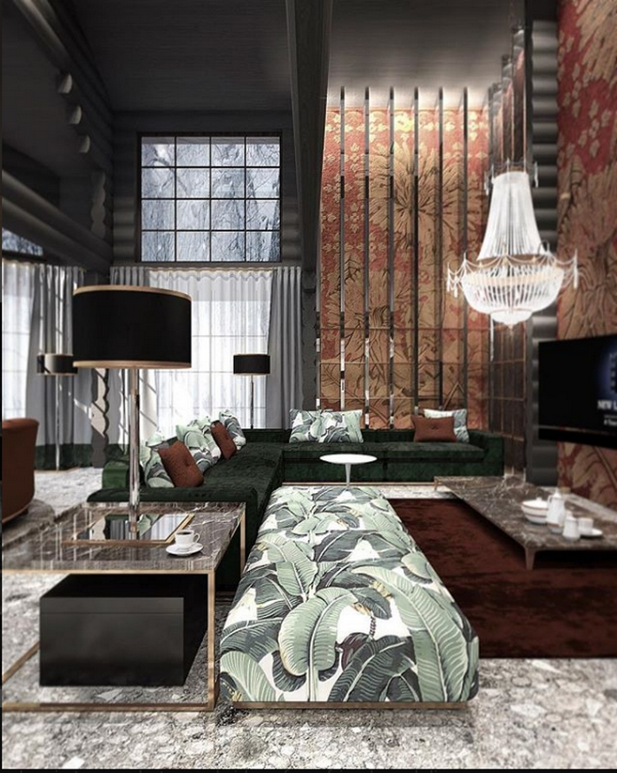 83 Interior Design Models That Look Luxurious And Are Designed To Decorate The Living Room 36