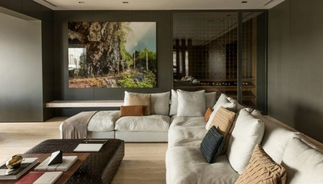 83 Interior Design Models That Look Luxurious And Are Designed To Decorate The Living Room 51
