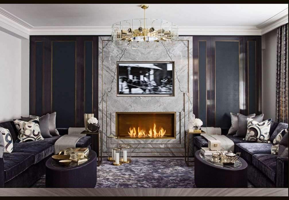 83 Interior Design Models That Look Luxurious And Are Designed To Decorate The Living Room 53