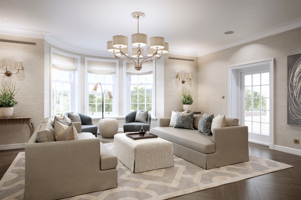 83 Interior Design Models That Look Luxurious And Are Designed To Decorate The Living Room 6
