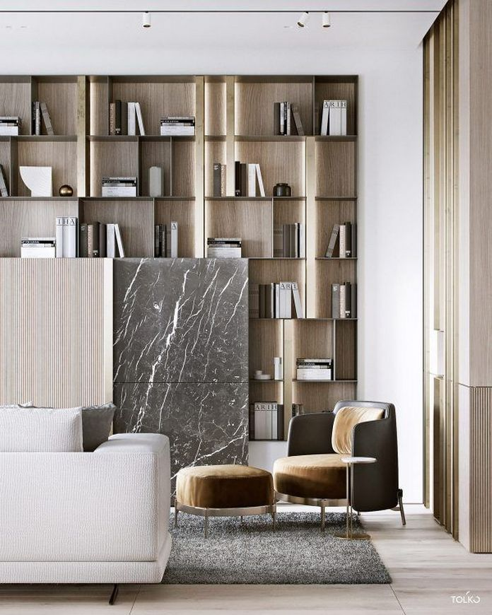 83 Interior Design Models That Look Luxurious And Are Designed To Decorate The Living Room 61