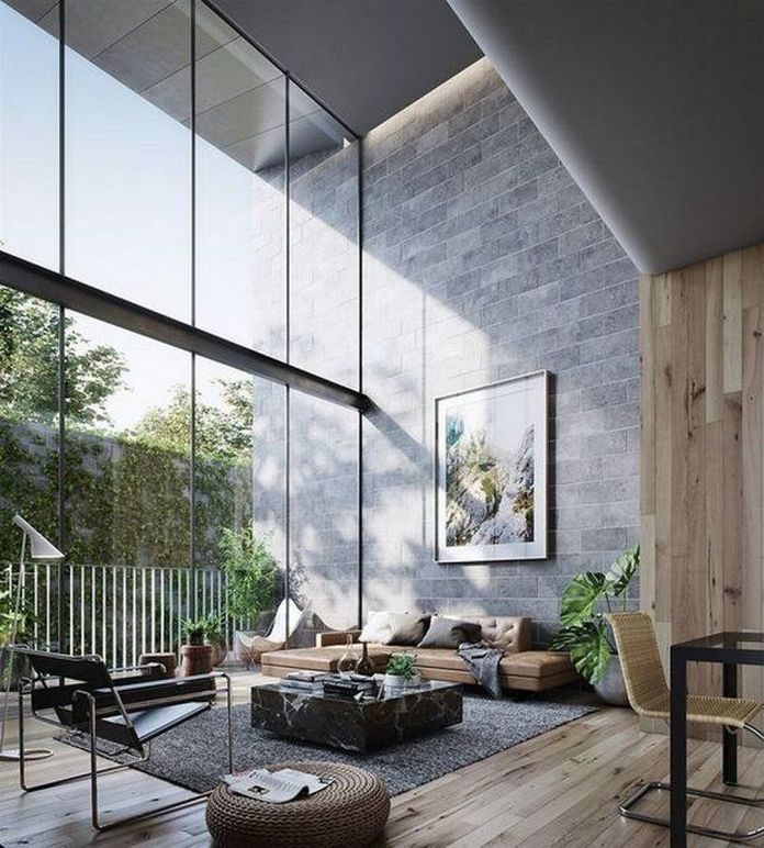 83 Interior Design Models That Look Luxurious And Are Designed To Decorate The Living Room 66