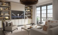 83 Interior Design Models That Look Luxurious And Are Designed To Decorate The Living Room 70