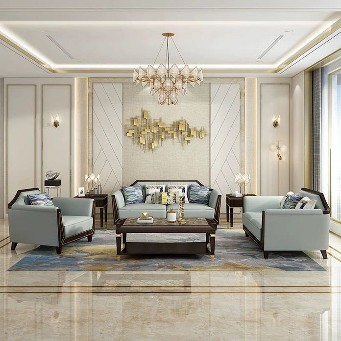 83 Interior Design Models That Look Luxurious And Are Designed To Decorate The Living Room 71