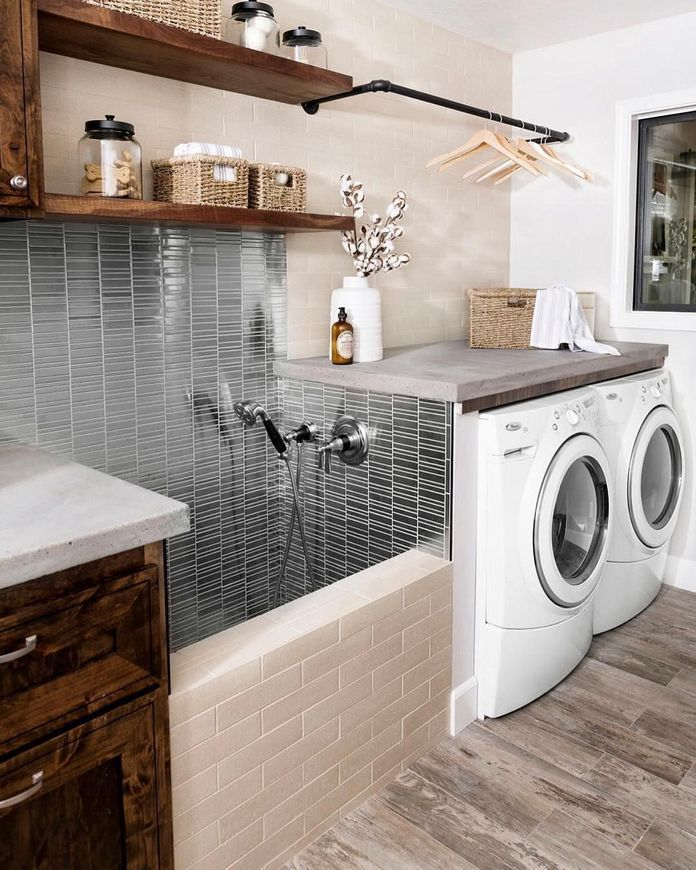 87 Outstanding Basement Laundry Rooms Decoration Models 1