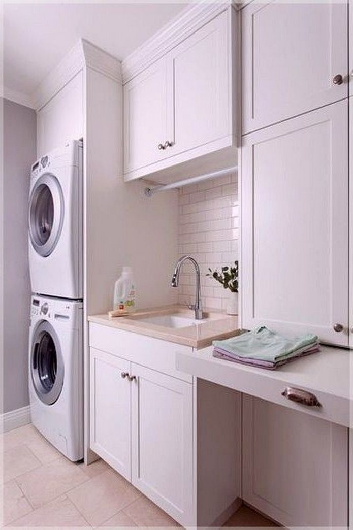 87 Outstanding Basement Laundry Rooms Decoration Models 11