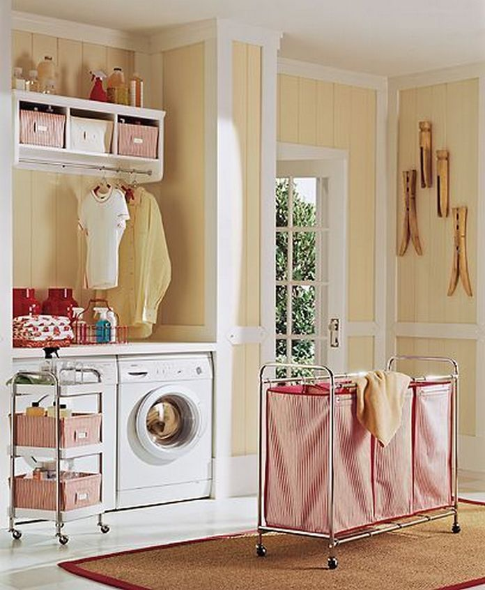 87 Outstanding Basement Laundry Rooms Decoration Models 25