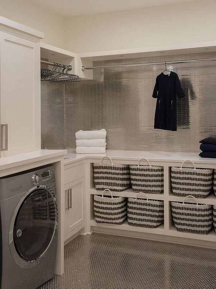 87 Outstanding Basement Laundry Rooms Decoration Models 35