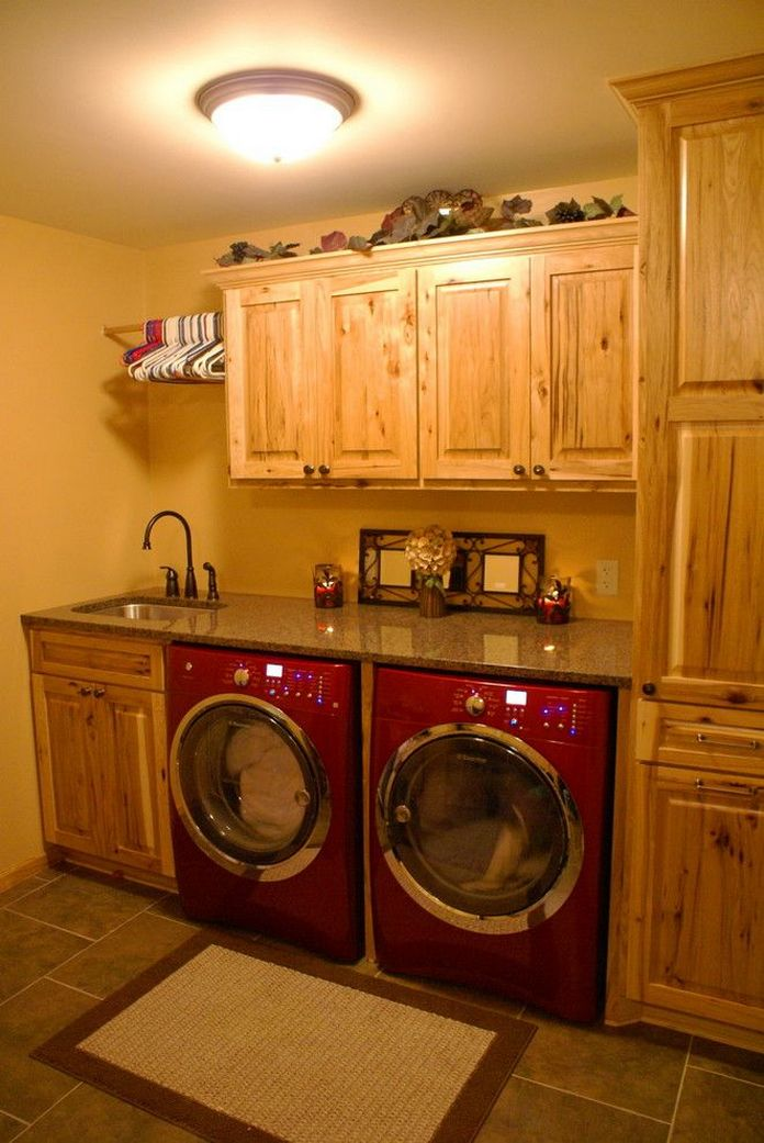 87 Outstanding Basement Laundry Rooms Decoration Models 38