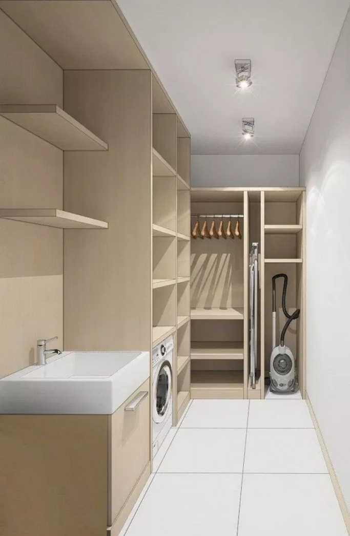 87 Outstanding Basement Laundry Rooms Decoration Models 39