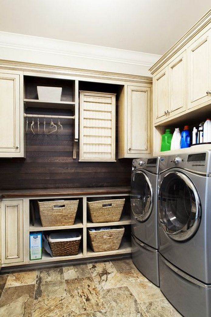 87 Outstanding Basement Laundry Rooms Decoration Models 4