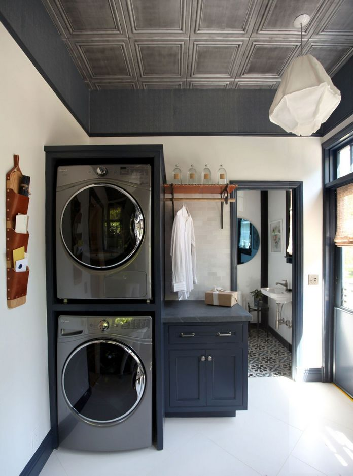 87 Outstanding Basement Laundry Rooms Decoration Models 40