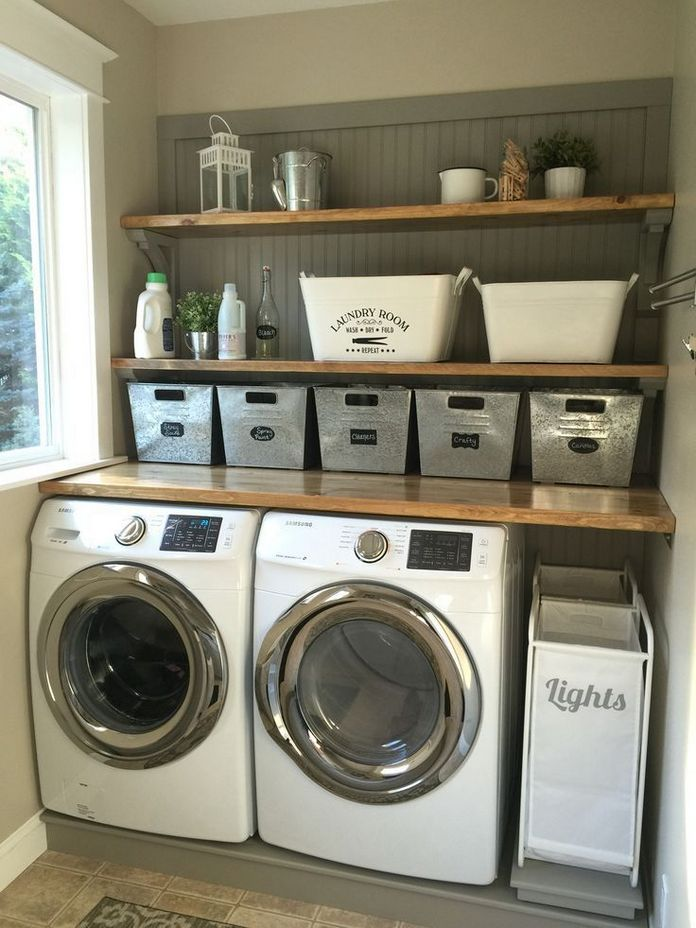 87 Outstanding Basement Laundry Rooms Decoration Models 43