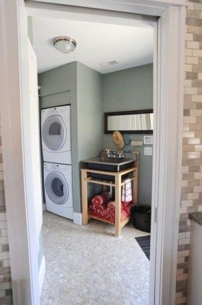 87 Outstanding Basement Laundry Rooms Decoration Models 47