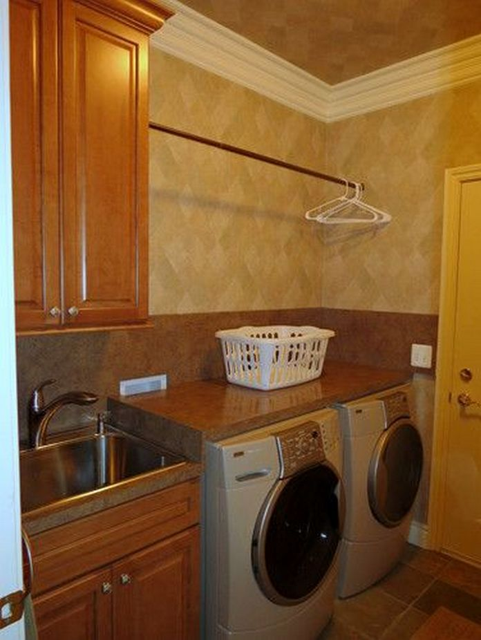 87 Outstanding Basement Laundry Rooms Decoration Models 5