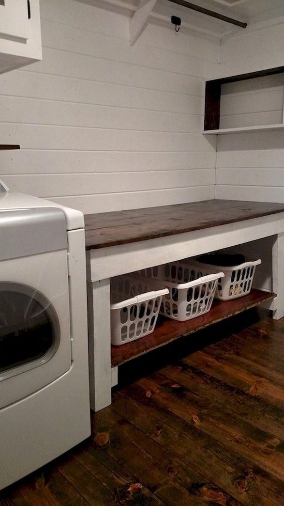 87 Outstanding Basement Laundry Rooms Decoration Models 54