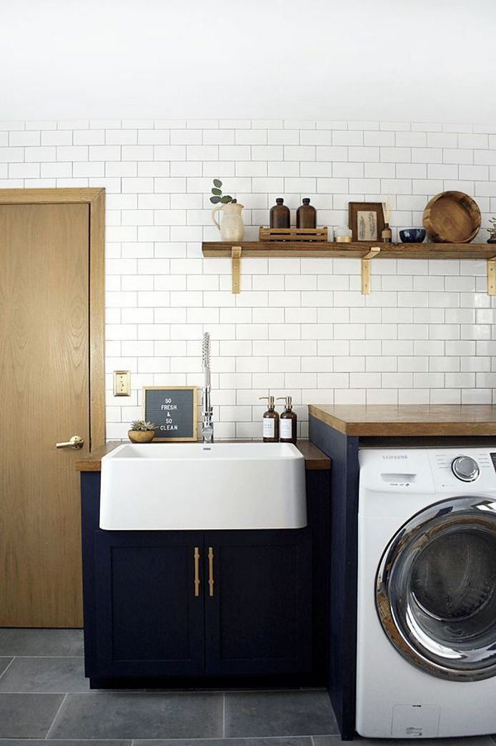 87 Outstanding Basement Laundry Rooms Decoration Models 7