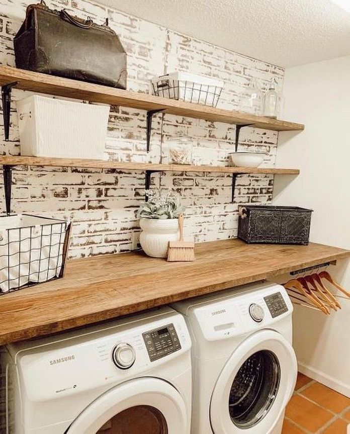 87 Outstanding Basement Laundry Rooms Decoration Models 81