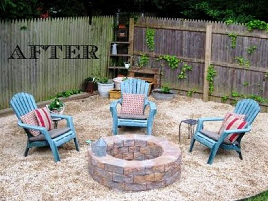 90 Fun Decoration Models Of Backyard Fire Pit Area 12