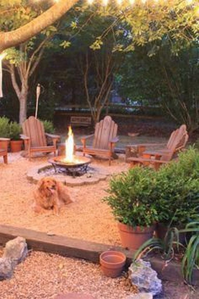 90 Fun Decoration Models Of Backyard Fire Pit Area 75