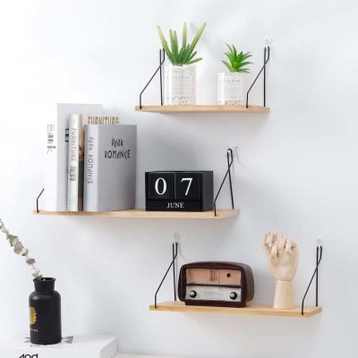 94 Wood Wall Shelves Designs That Inspire To Add To The Beauty Of Your Home Space 2