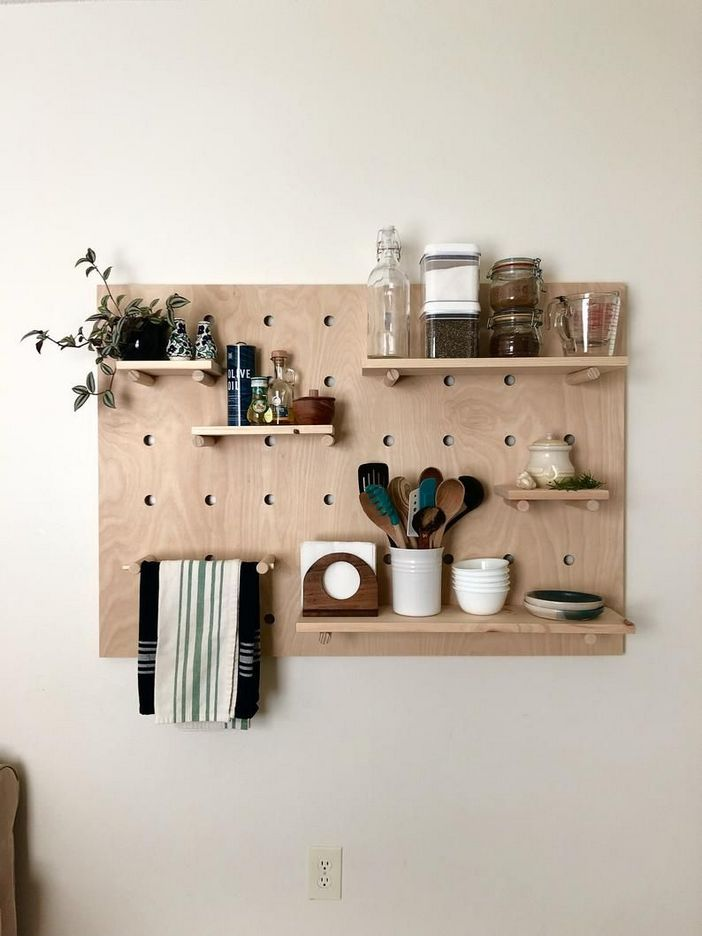 94 Wood Wall Shelves Designs That Inspire To Add To The Beauty Of Your Home Space 26