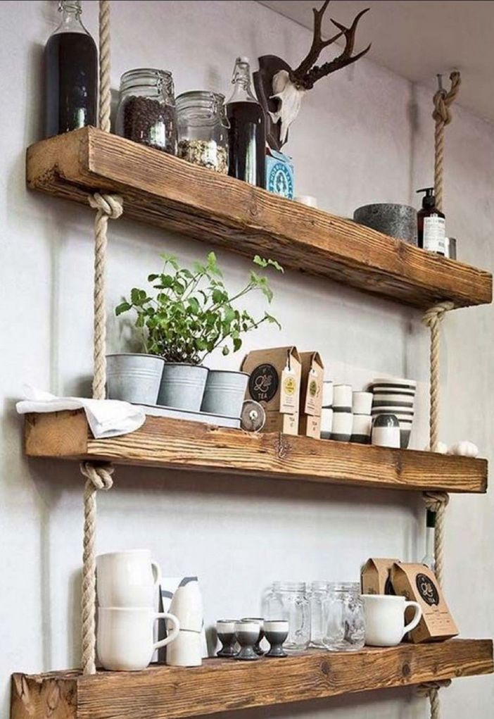 94 Wood Wall Shelves Designs That Inspire To Add To The Beauty Of Your Home Space 32
