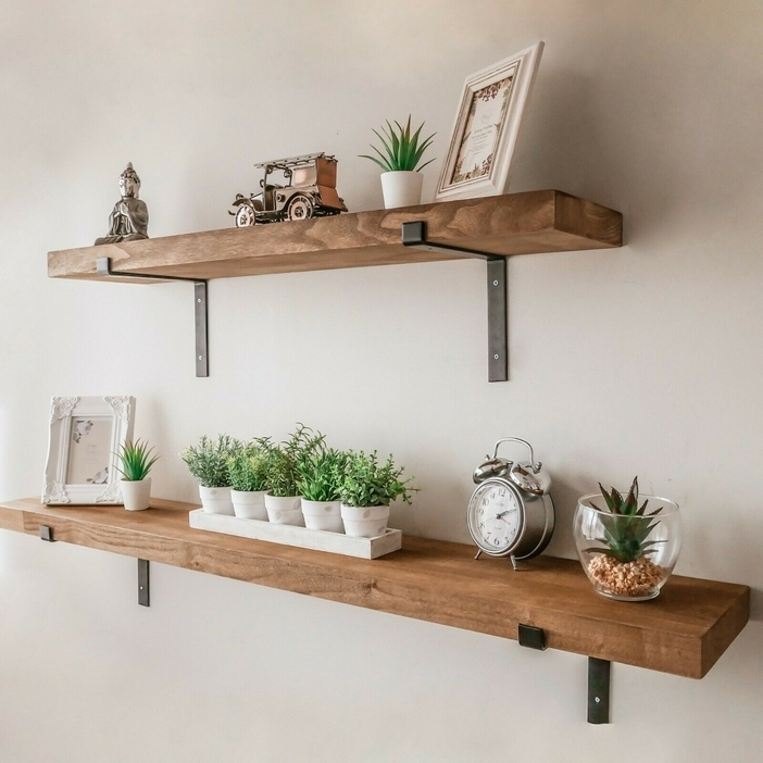 94 Wood Wall Shelves Designs That Inspire To Add To The Beauty Of Your Home Space 34